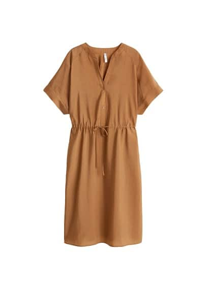 MANGO Bow soft dress