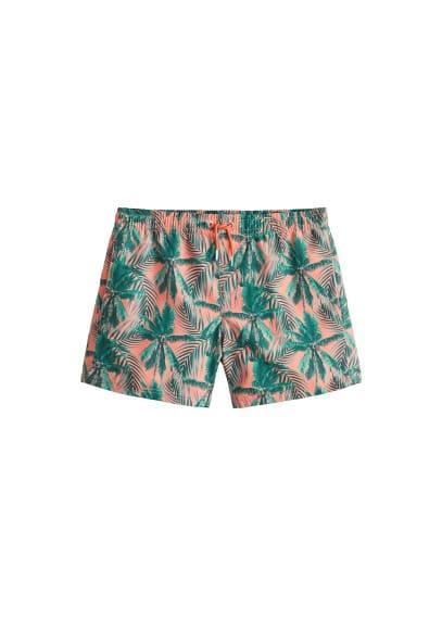 Bild von Badeanzug mit palmen-motiv