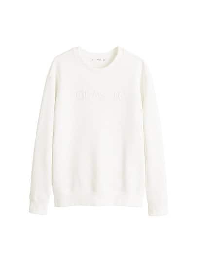Sweatshirt Beyaz Ürün Resmi