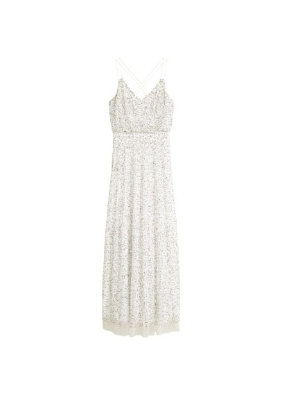 MANGO Sequined gown
