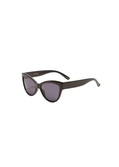Asetat çerçeveli güneş gözlüğü Siyah,Çikolata Ürün Resmi