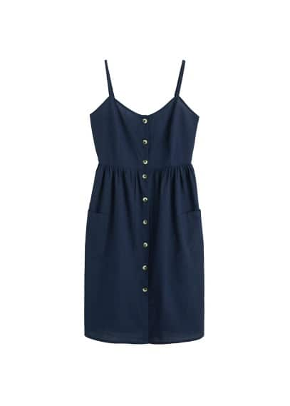 MANGO Buttoned dress