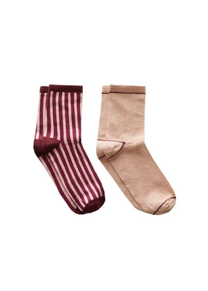 2 pack mixed socks