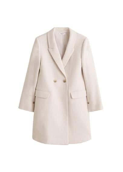Maskülen kesim palto Siyah,Açık Pembe,Ekrü,Bej Ürün Resmi