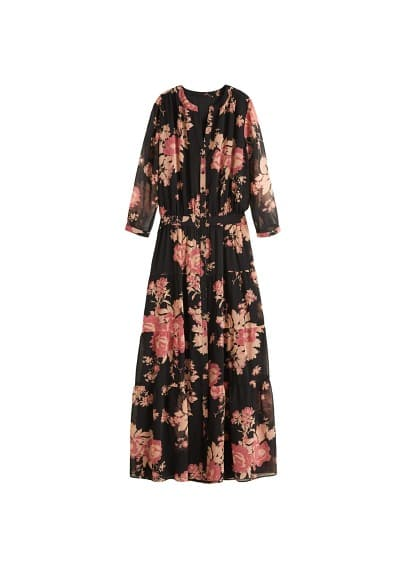 MANGO Flower print dress