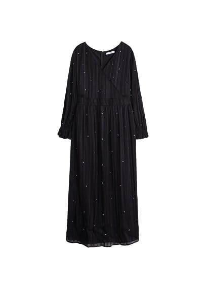 Violeta BY MANGO Sequined gown