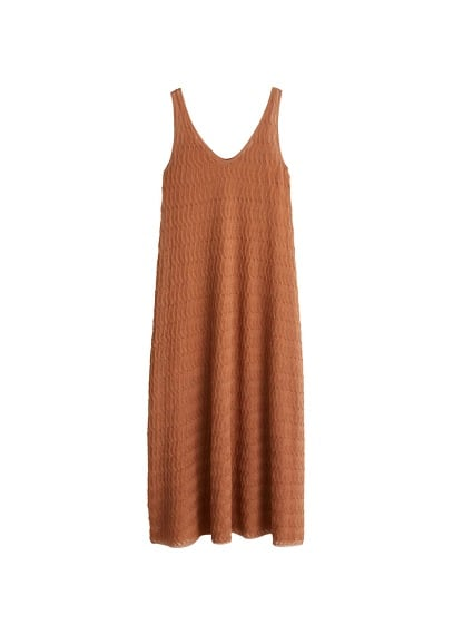 MANGO Open-work dress