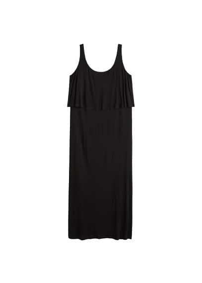 Violeta BY MANGO Double layer dress