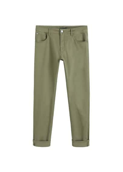 5 cepli dar kesim koton pantolon Lacivert,Siyah,Beyaz,Çin Ürün Resmi