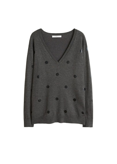 Pull-over maille pois