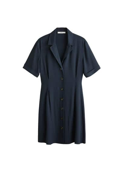 MANGO Shirt piqué dress