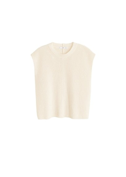 MANGO Recycled cotton top