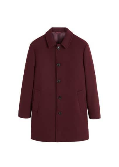 Tailored yün palto Siyah,Gri,Bordo Ürün Resmi