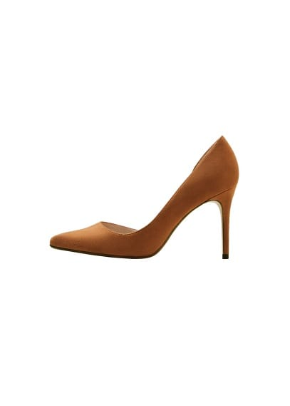 Asimetrik stiletto ayakkabı Konyak Rengi Ürün Resmi