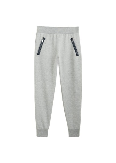 Fermuarlı koşu pantolonu Lacivert,Bordo Ürün Resmi