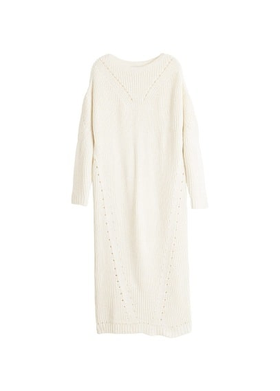 MANGO Knit long dress