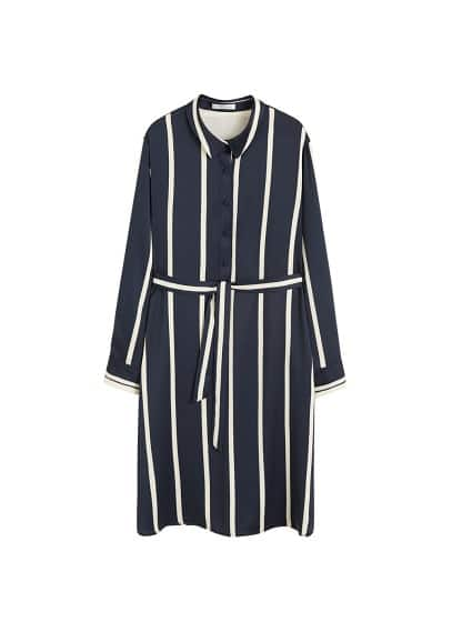 Violeta BY MANGO Soft shirt dress
