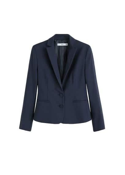 Astarsız pamuklu blazer ceket Kırmızı,Lacivert,Siyah,Be Ürün Resmi