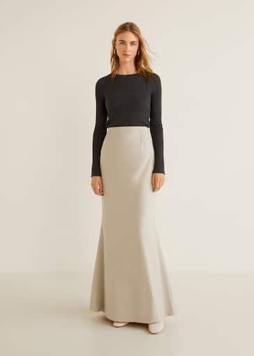 a07275867 Largas - Faldas de Mujer 2019 | Mango España