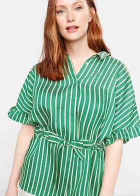 1fe4fe3575f Ruffled striped shirt - General plane