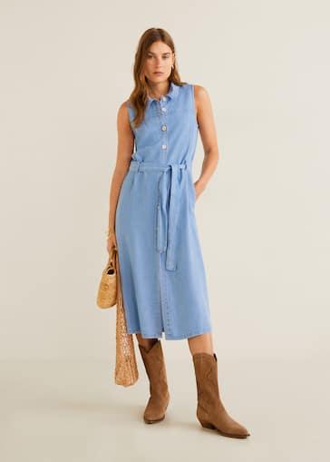profiter de prix pas cher bon out x professionnel de premier plan Denim style soft dress