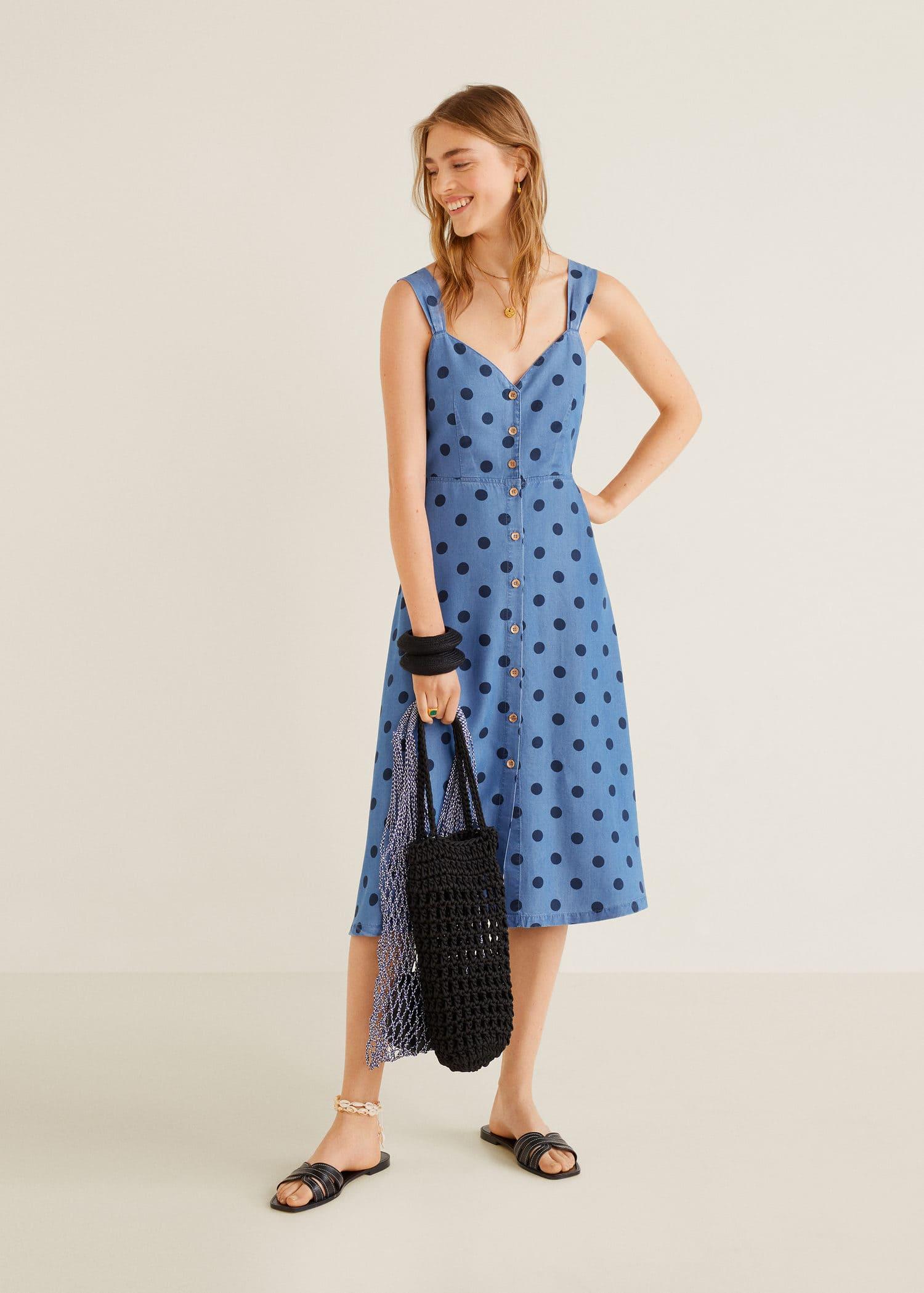 Imagenes de vestidos de promocion color azul electrico
