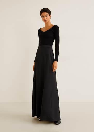 dd1fbf160 Largas - Faldas de Mujer 2019 | Mango España