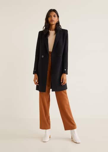 Παλτό με διπλή σειρά κουμπιών 95b0606b6a0