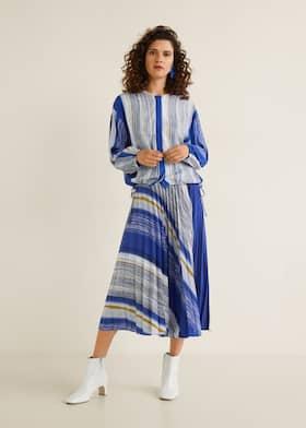 Blouses - Chemises pour Femme 2019   Mango France bb7e4381f6b
