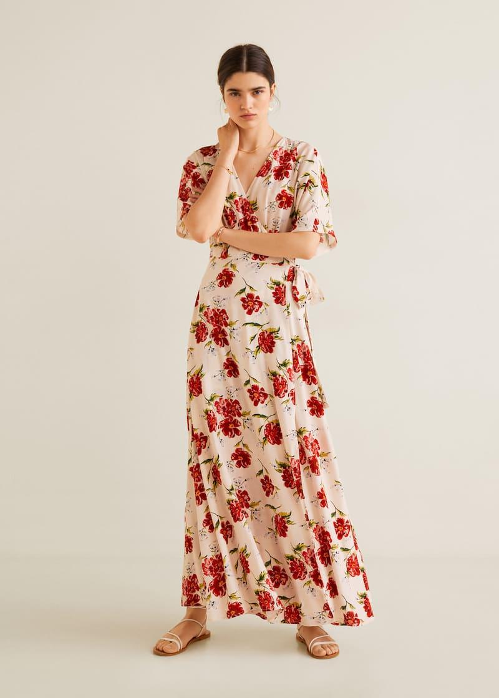 6a2b5cb3ff07 Robe à fleurs - Plan général
