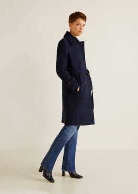 Cappotto lana doppia abbottonatura - Piano generale ec93e2d0cf0