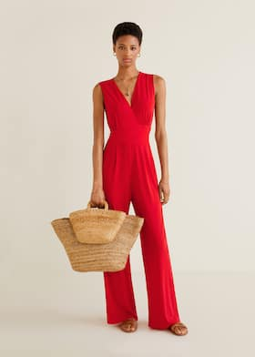 51855fc59a0 Flowy long jumpsuit - General plane