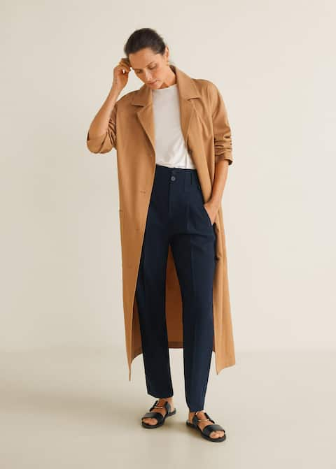 f2ff5b2e Trousers for Women 2019 | Mango United Kingdom