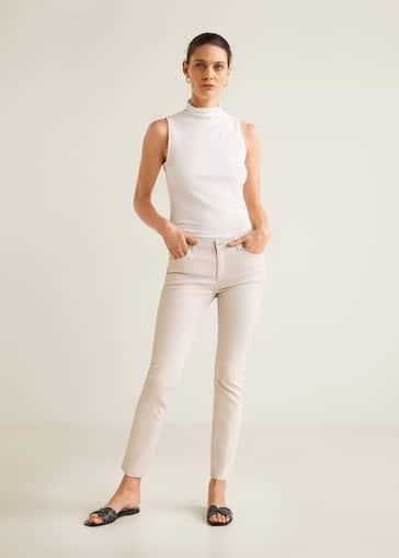 e7e7375e67 Jean skinny belle enduit - Femme   Mango Suisse