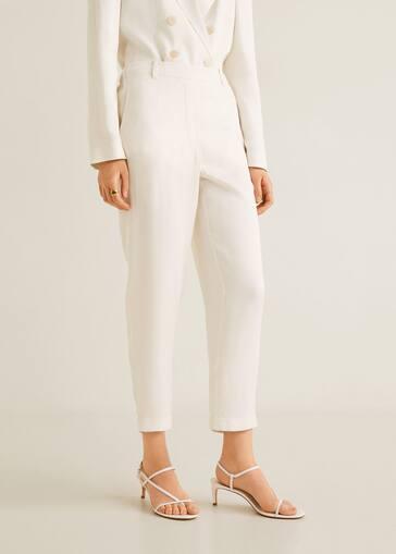 849737bd8d40 Pantalon texturé - Femme