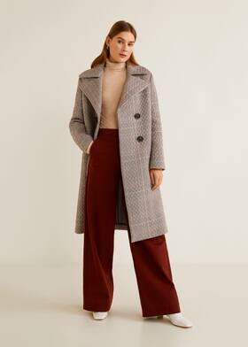 Παλτό καπιτονέ καρό - Γενικό πλάνο dbbc87b73af