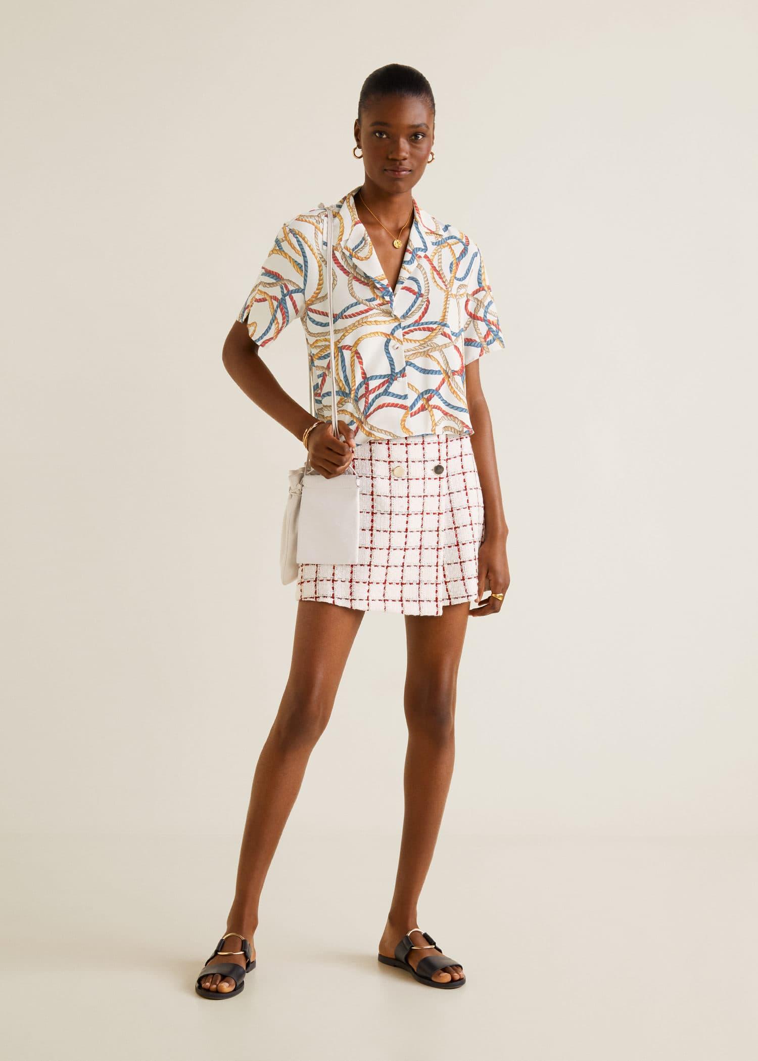 Women's Black Corduroy Mango Mini Skirt Us Size 4 Clothing, Shoes & Accessories