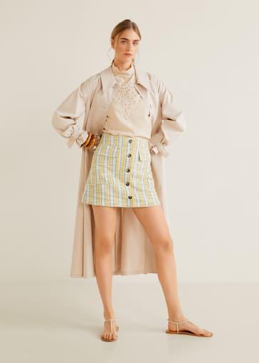 f64ef6bf89 Minifalda rayas - Plano general