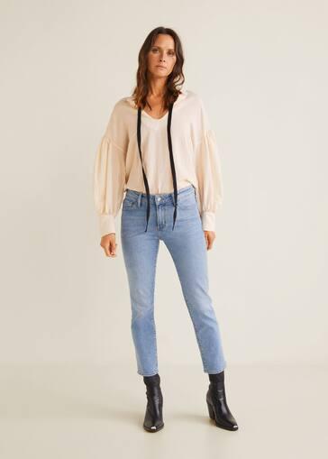 d1a60d9d58f Jeans slim cropped Grace - Plano general