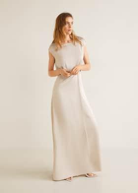 Satin klänning - Allmän bild dca31b3a2cc8f