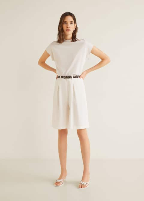 6e33a0bb T-shirts and tops for Women 2019   Mango United Kingdom