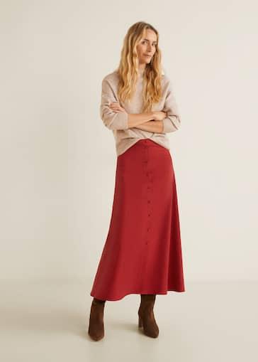 7d9d2d5924165c Spódnice dla Kobieta 2019 | Mango Polska