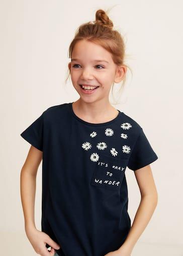 f9c4cfe0b Camiseta estampada algodón - Plano general