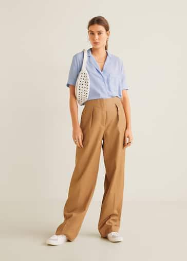 c6549559590 Camisas de Mujer 2019 | Mango España