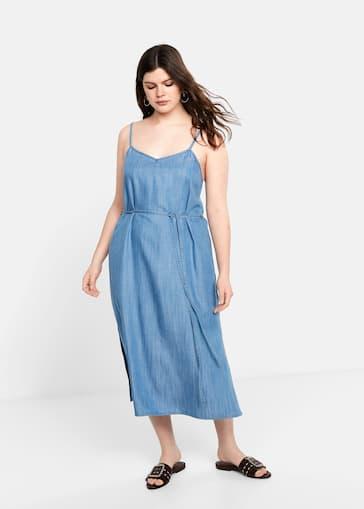 aa24795c11b6 Φόρεμα soft φιόγκος - Γενικό πλάνο