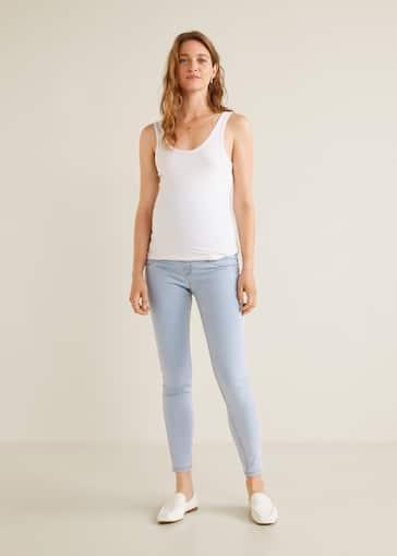 ddc516ca381 Jeans tiro alto - Plano general
