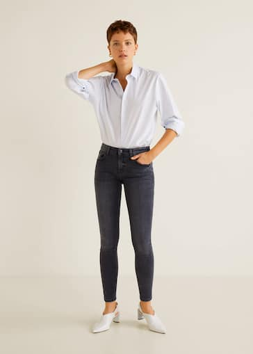 6ab5ccfbe8 Jeans skinny push-up Kim - Plano general