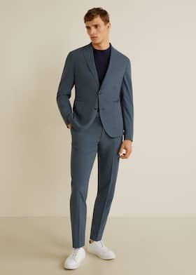 Pantalón Tailored washable slim-fit - Plano general 0189897123f