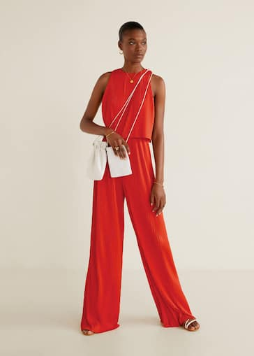 cf9dc452b32 Pleated jumpsuit - General plane