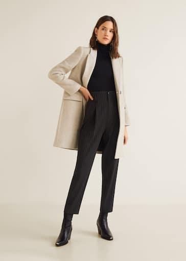 0bd49eb4300d9 Manteaux pour Femme 2019   MANGO Maroc